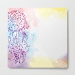 Ethnic dreamcatcher Metal Print