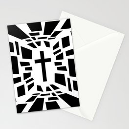 Christian Cross Stationery Cards