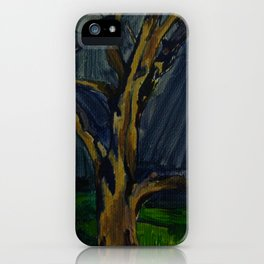 Hocking River Tree iPhone Case