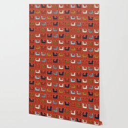 Zagros in Red Wallpaper