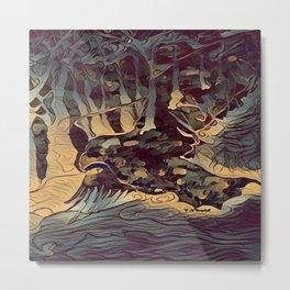 """"""" The Hunt """" Metal Print"""
