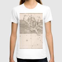 Johann Bayer - Uranometria / Measuring the Heavens (1661) - 22 Gemini T-shirt