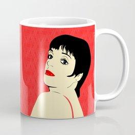 Liza Minnelli | Pop Art Coffee Mug
