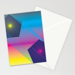 Pentagons Stationery Cards