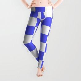 Checkered (Blue & White Pattern) Leggings