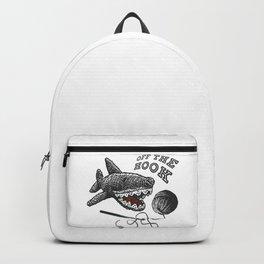off the hook - crochet love Backpack