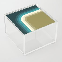 Graphic 876 // Cool & Drab Bend Acrylic Box