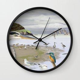 Galician landscape Wall Clock
