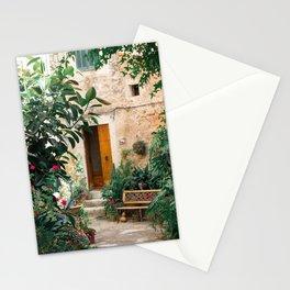 Pretty street in Valldemossa, Mallorca Stationery Cards