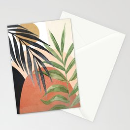 Abstract Tropical Art VI Stationery Cards