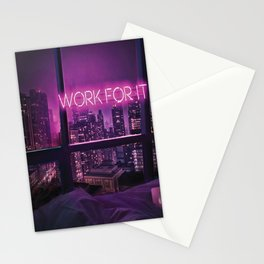 Neon Light Inspiration Stationery Cards