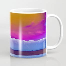 Orange Pink Glow Brothers Coffee Mug