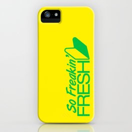 So Freakin' Fresh v2 HQvector iPhone Case