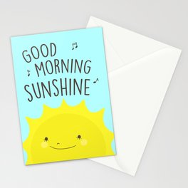 Good Morning Sunshine Stationery Cards