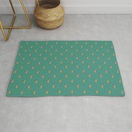 Jerseys // Green Sprinkles Rug