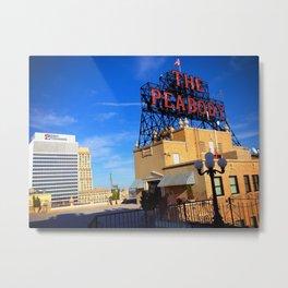 The Peabody Memphis Metal Print