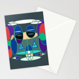 GeoFace Stationery Cards