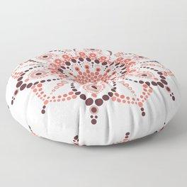 Millennial Pink Mandala Floor Pillow