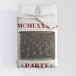 1984 Party Comforters