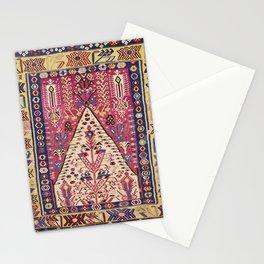 Cute Pink Antique Turkish Niche Kilim Print Stationery Cards