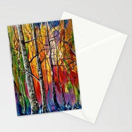 Enchanted Universe Modern Art Stationery Cards