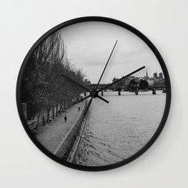 The Seine Wall Clock