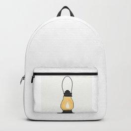 Indian Lantern Lamp | Minimalist doodles Art Backpack