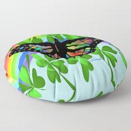 """""""Butterfly Luck"""" Floor Pillow"""