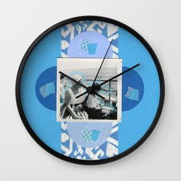Listening To The Water Wall Clock