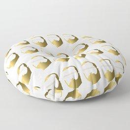King of Babylon Nebuchadnezzar ll Floor Pillow