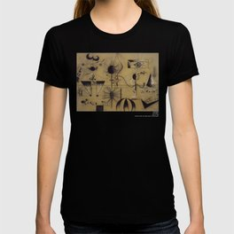 Joan Miro The Family 1924 Artwork T Shirt, Art Reproduction T-shirt