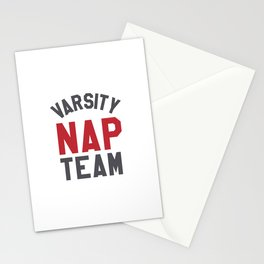 Varsity Nap Team Stationery Cards