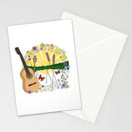 Festival Feeling Illustration Stationery Cards