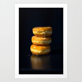 Glazed Donuts Art Print