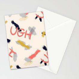 UGH Pattern Stationery Cards