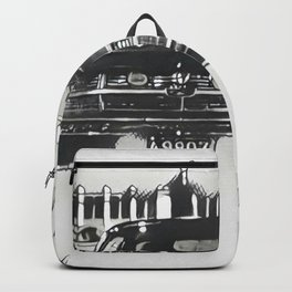 Death Drives Here Backpack