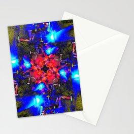 Asphalt Flower Stationery Cards