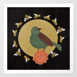 The Bird and the Bees Art Print