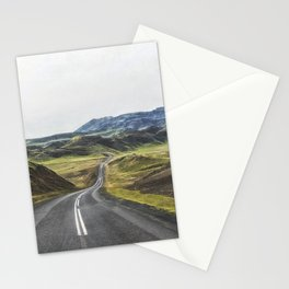 Winding Road Iceland Stationery Cards