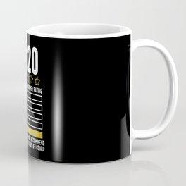 2020 Review Very Bad Rating 1 Star Coffee Mug
