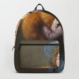 Elisabeth Louise Vigee Le Brun - Madame Mole-Reymond with Muff Backpack
