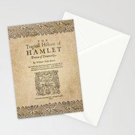 Shakespeare, Hamlet 1603 Stationery Cards