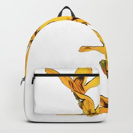 Forsythia Oleaceae Easter tree William Forsyth natural beauty Backpack
