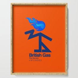 006 BRITISH GAS Serving Tray