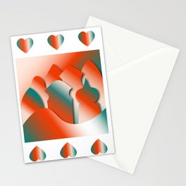 Fiery City Stationery Cards