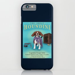 The Great Houndini iPhone Case