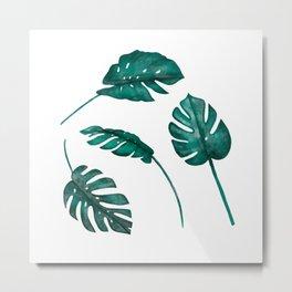 Tropical days -Series III.- Metal Print
