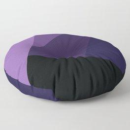 Royal Purple Dreams #4 Floor Pillow
