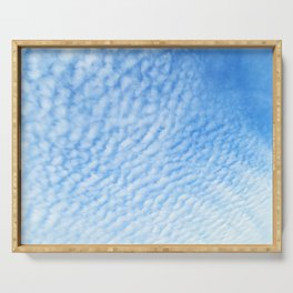 Cirrocumulus Clouds 2 Serving Tray