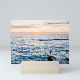 Looking out at La Jolla Shores Fine Art Print Mini Art Print